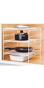 Grayline  Small Kitchen Helper Shelf