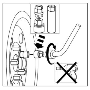Torque McGard Wheel Lock