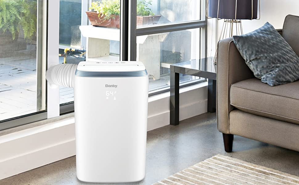 air conditioner, portable air conditioner ac unit for sliding door window bedroom home office fan