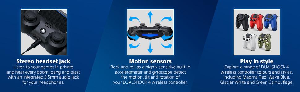 DualShock 4 draadloze controller