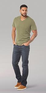 Lee Men's Performance Series Extreme Motion Regular Fit Jean