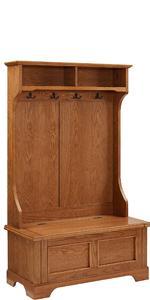 Amazon Com Crosley Furniture Seaside Hall Tree