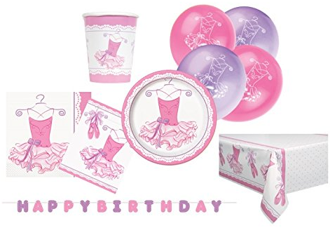Pink Ballerina Party Supplies Kit for 8 · 23cm Pink Ballerina Party Plates Pack of 8 · 18cm Pink Ballerina Party Plates Pack of 8 · 6.5  Pink Ballerina ...  sc 1 st  Amazon UK & 18cm Pink Ballerina Party Plates Pack of 8: Amazon.co.uk: Toys u0026 Games