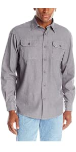 Wrangler Authentics Long Sleeve Classic Woven Shirt