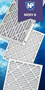 Nordic Pure 19/_1//4x23/_1//4x1 Exact MERV 12 Pleated AC Furnace Air Filters 2 Pack