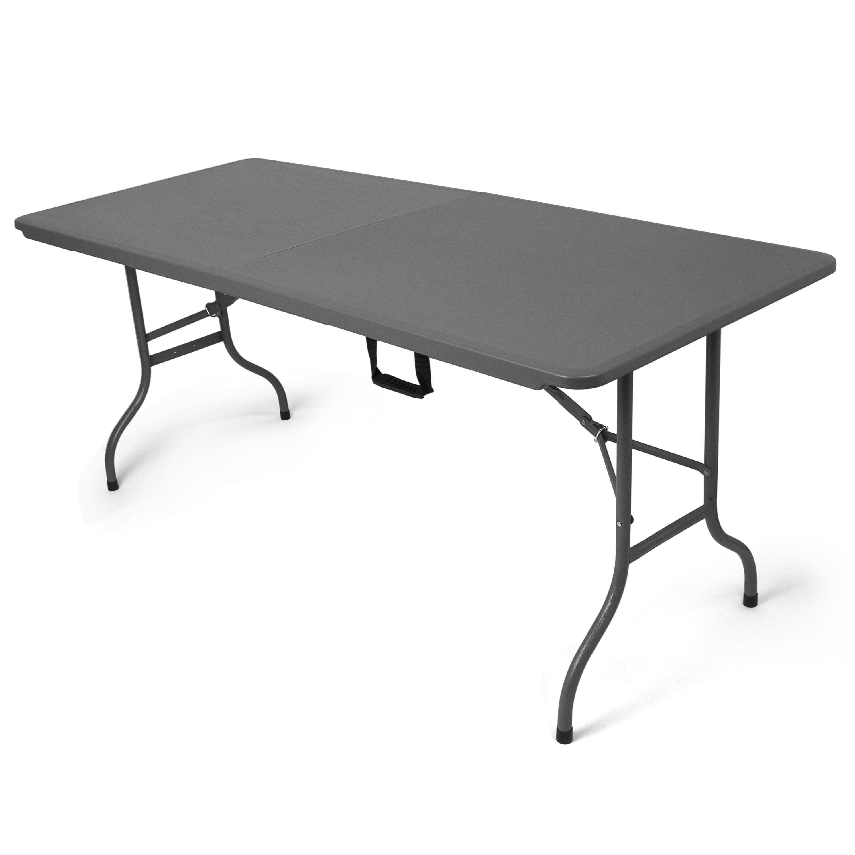 Park alley tavolo da esterni pieghevole in antracite for Idee di gomma garten