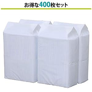 たっぷり使える100枚×4袋
