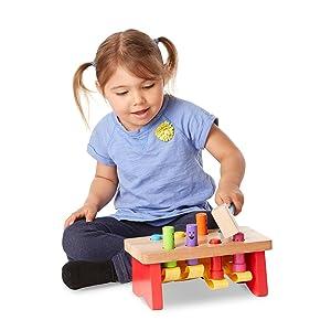 toddler;hammer;toy;peekaboo;boys;girls