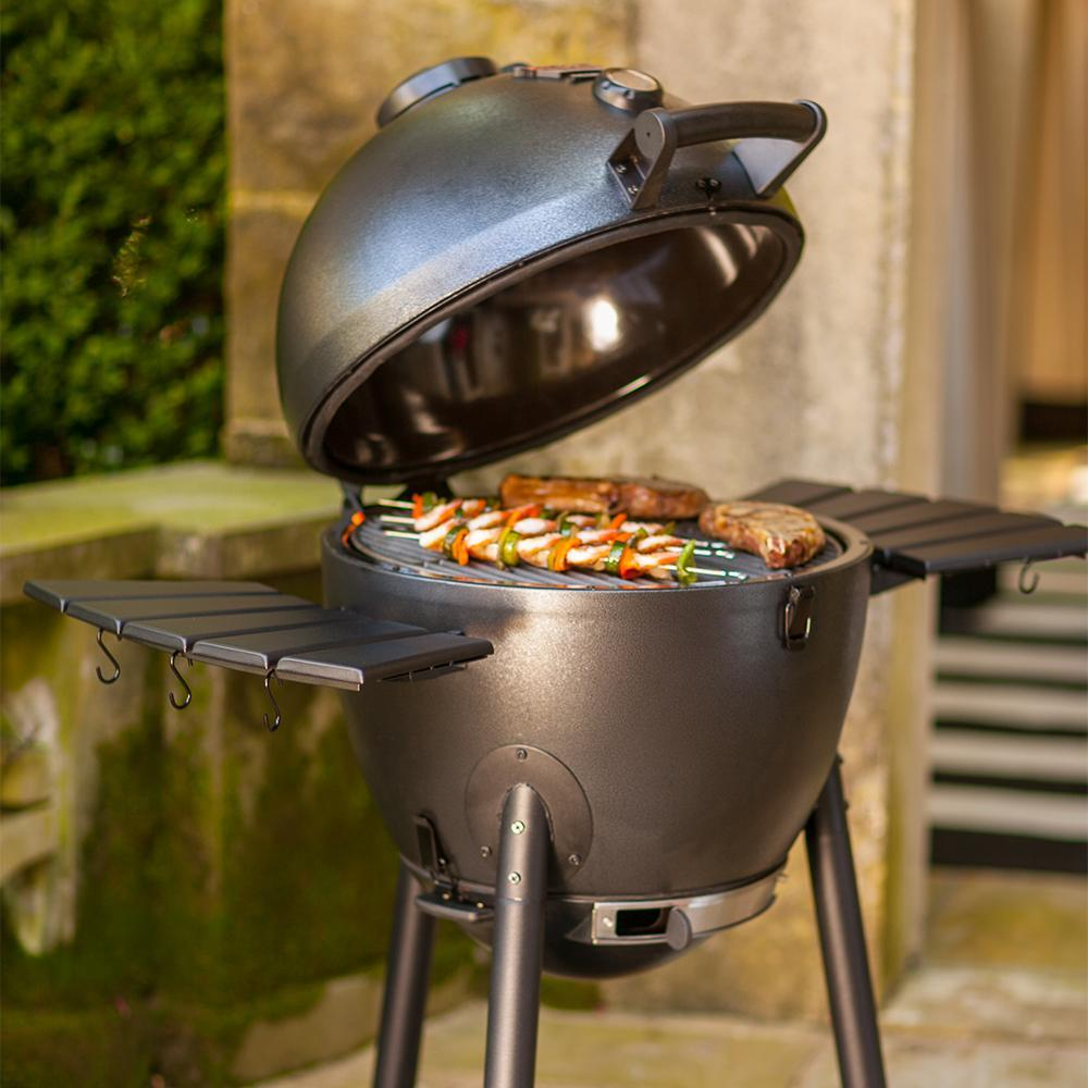 Tips For Cooking Low And Slow On Your Gas Grill: Amazon.com : Char-Griller 96619 Akorn Kamado Kooker Combo