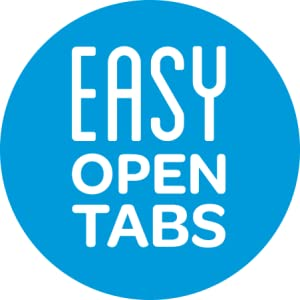 Ziploc-EASY OPEN TABS