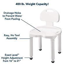 400 lb weight capacity