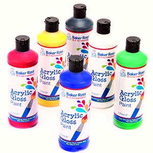Acrylic Paints - Six Pack