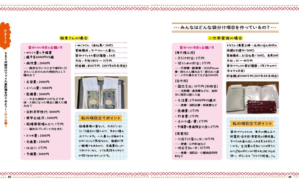 袋分け家計簿05