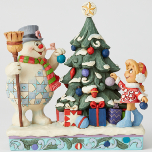 Frosty the Snowman by Jim Shore Hand-Crafted in Stone Resin