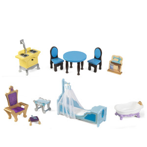 Includes 12 pieces of royal furniture