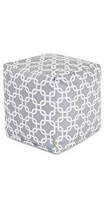Links Cube Pouf