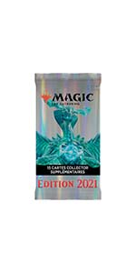 Verzamelaar Booster, MTG, Magic the Gathering, Edition 2021.