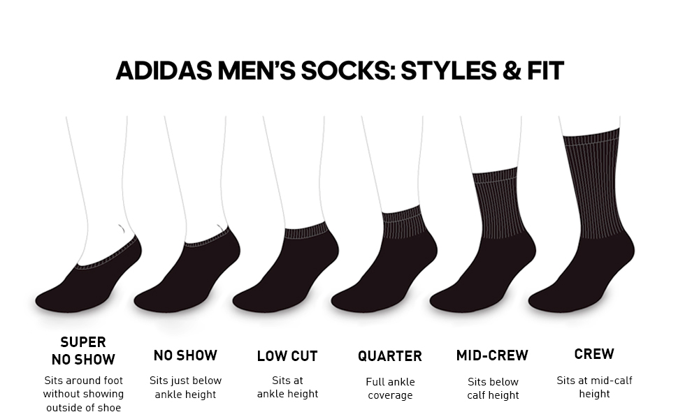 Mens Socks Styles & Fits
