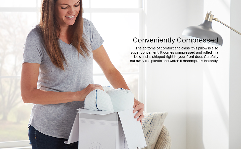 Compressed; shipping; easy; convenient