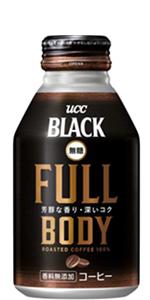 UCC ブラック無糖 FULL BODY 缶コーヒー