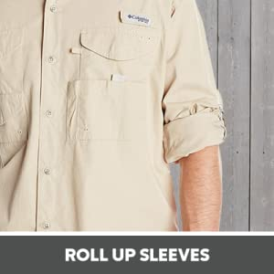 Roll up sleeves