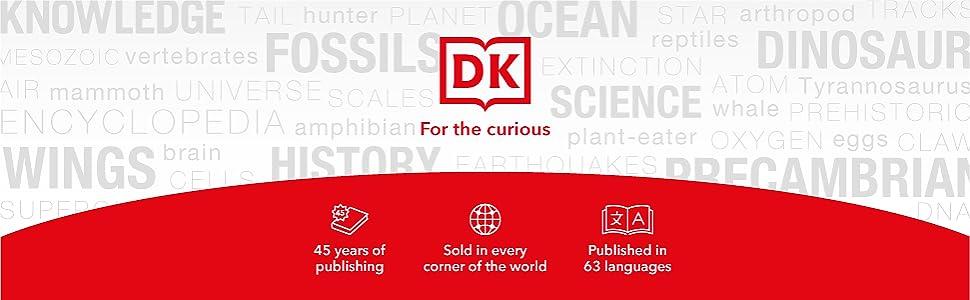DK Books for children and kids entertainment