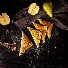 Recette à consulter : chaussons aux pommes friteuse à air chaud multifonctionnelle