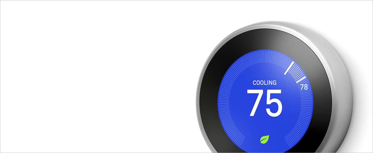 google, google nest, google nest learning thermostat