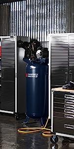 60 Gallon Air Compressor, 2 Stage Air Compressor, Campbell Hausfeld, Campbell Hausfeld Air Compessor