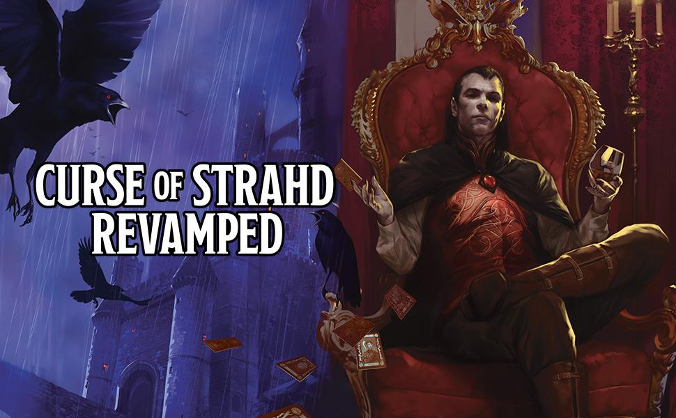 strahd von zarovich, Dungeons and Dragons Curse of Strahd Revamped