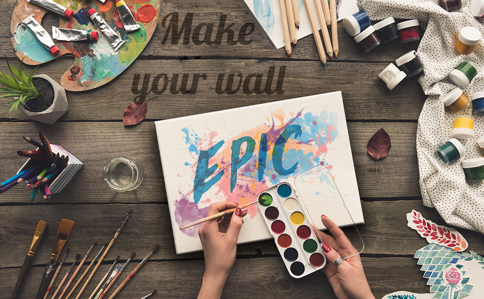 make your wall epic