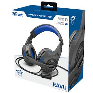 Headset Gamer PS4 / XBOX ONE / SWITCH / PC / LAPTOP GXT 307B Ravu 40mm - Trust