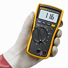 Fluke, HVAC, 116, 323, Clamp Meter, Digital Multimeter, True-rms