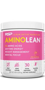 aminolean pre workout powder for women preworkout energy amino acids bcaa