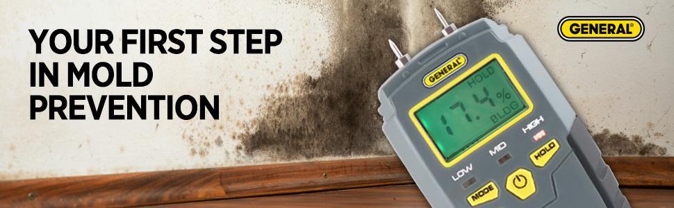 moisture meter, moisture detection, mmd4e, general tools