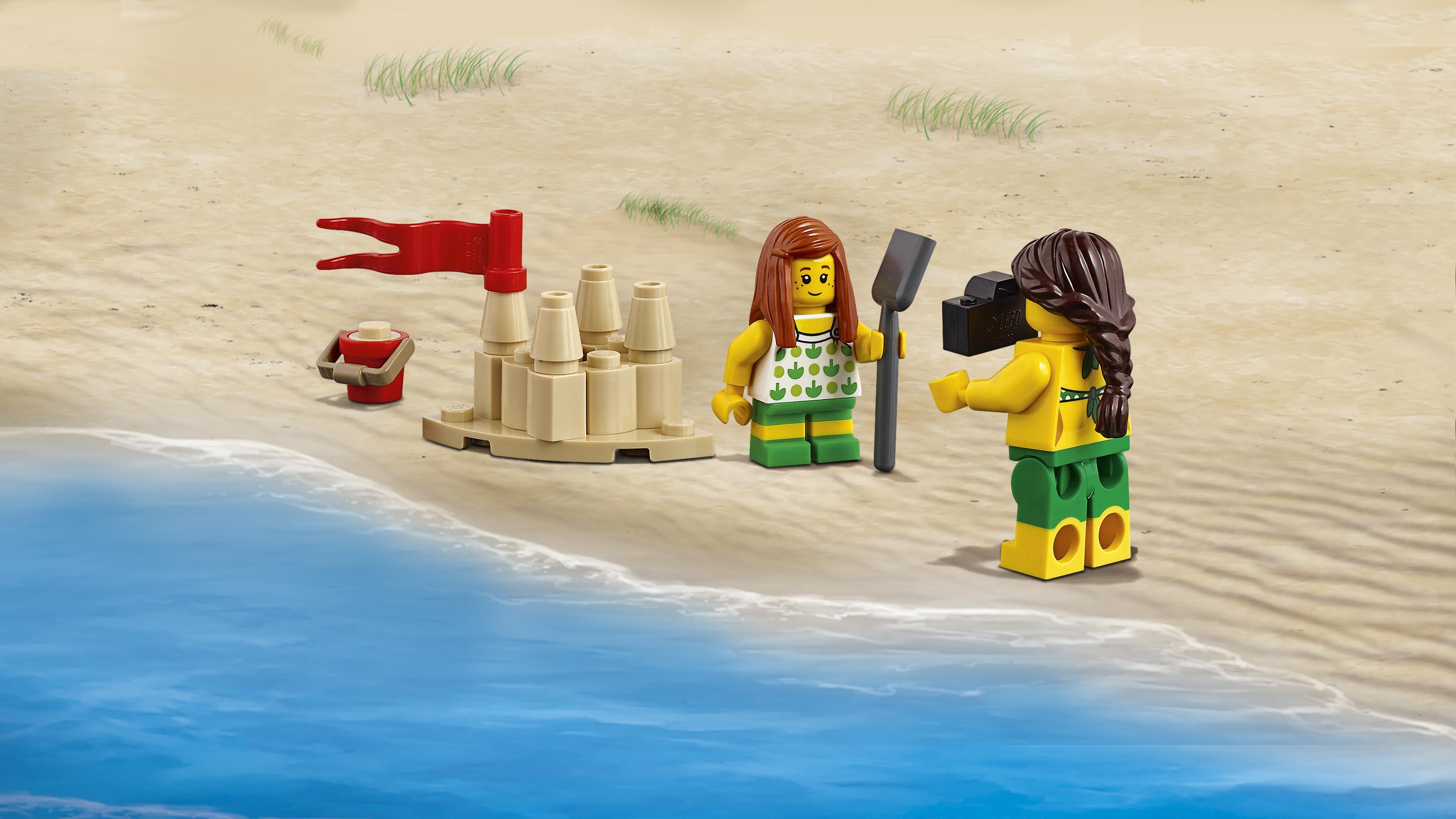 LEGO City Town - Pack de MiniFiguras Diversión en la Playa
