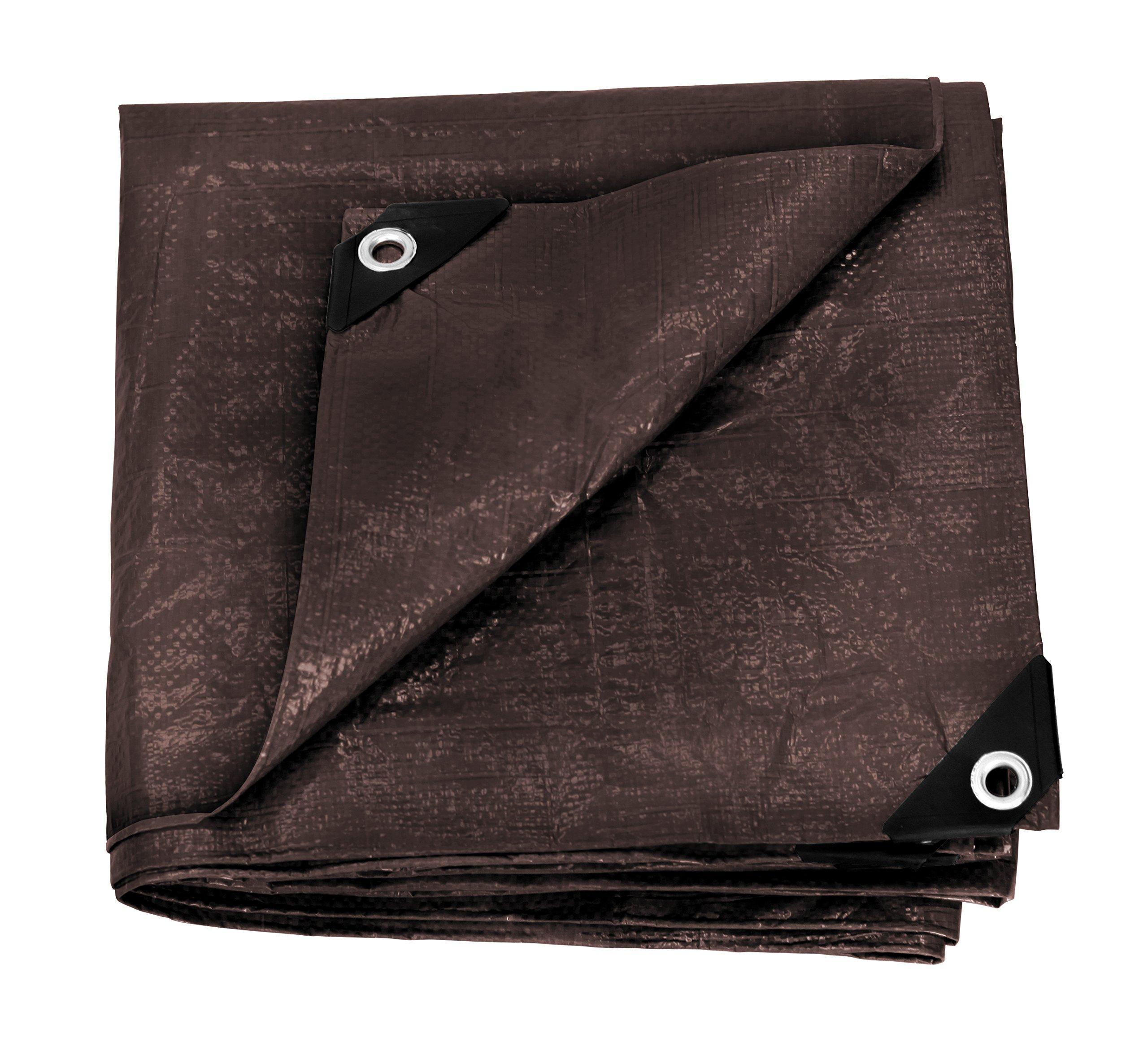 stansport reinforced brown ripstop tarp