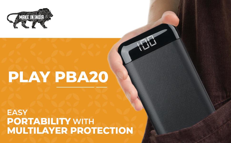 PLAY PBA20, Powerbank