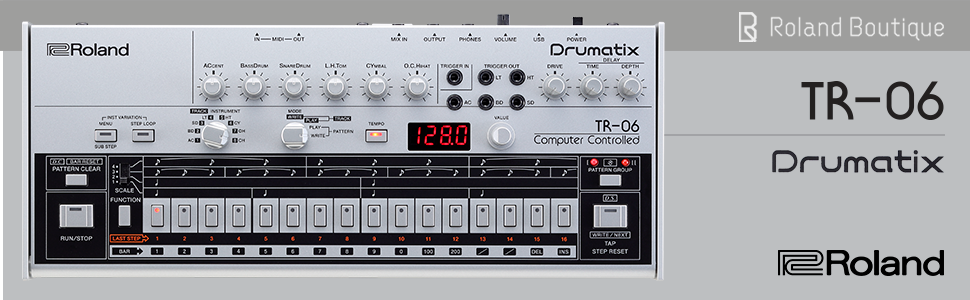 tr-06, tr, 606, 808, drum machine, sequencer, 909, Roland, dj, behringer, pioneer, sequencer, sample