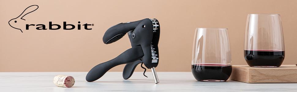 Rabbit wine corkscrew