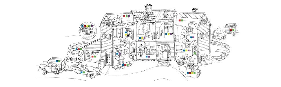 DampRid Location Chart