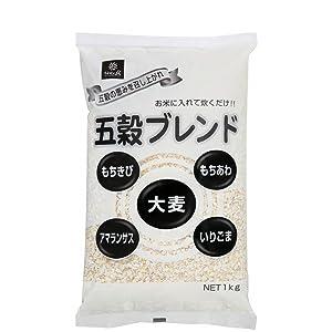 はくばく 五穀ブレンド 1kg