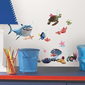Finding Nemo Peel And Stick Wall Decals, Peel And Stick Wall Decals Part 53