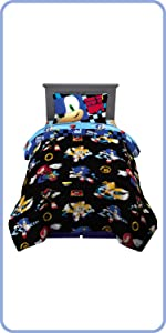 SONIC THE HEDGEHOG TWIN SIZE BEDDING SET
