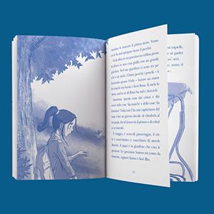 bussola, illustrazioni, viola e il blu