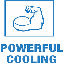 POWERFUL COOLING
