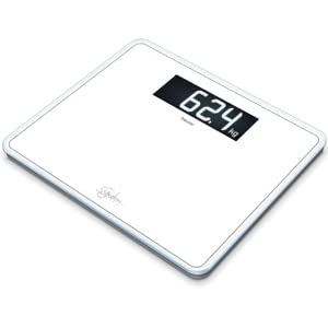 Beurer BF 400 Signature Line White Bilancia Diagnostica con Portata fino a 200 kg Colore Bianco
