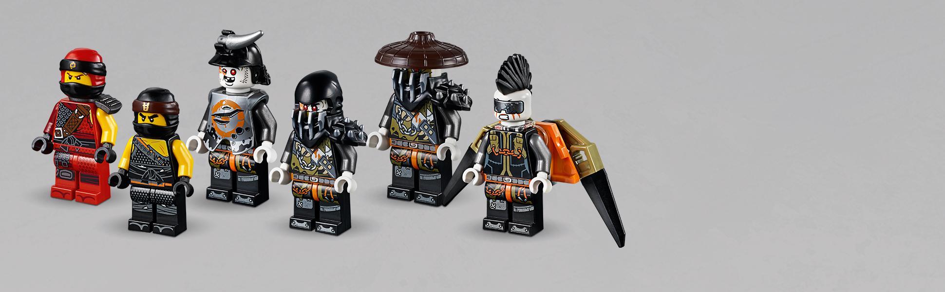 LEGO Ninjago - Llama del destino, set de construcción a