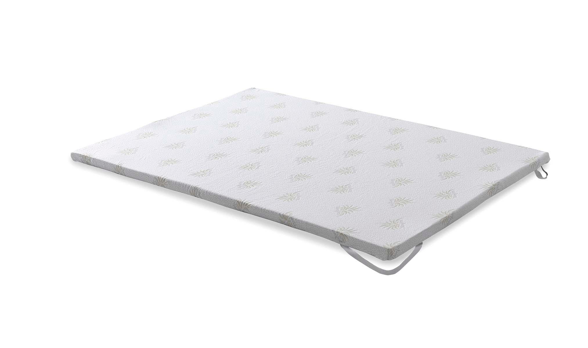 Camapolis topper viscoelastico de 6cm para cama de 135x190 - Colchoncillo viscoelastico ...