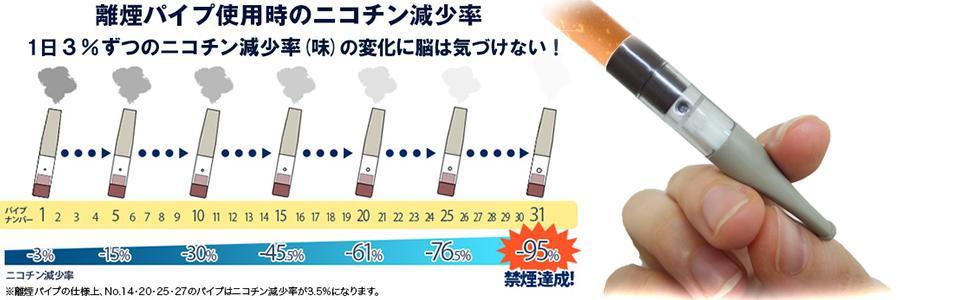 離煙パイプ 吸いながら ニコチンカット タールカット 禁煙チャレンジ
